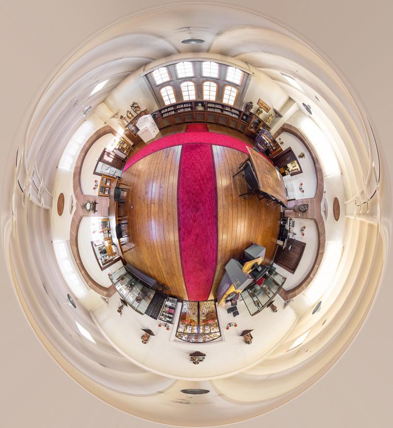 Visite virtuelle Bibliothèque Humaniste - PMod