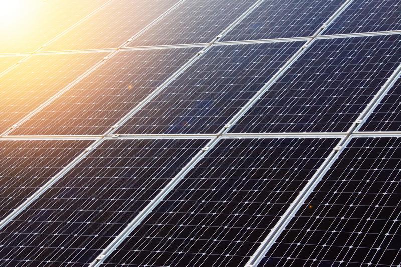 Photo d'un panneau photovoltaïque