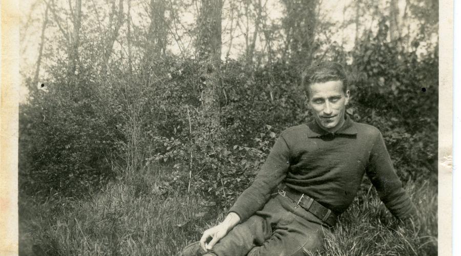 Albert Drouan entre Septembre 1939 et Juin 1940.
