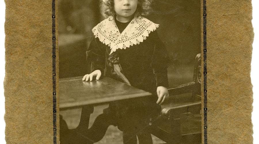 François Meusburger enfant.