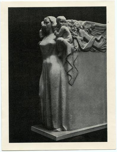 Une photographie du Monument aux Morts inauguré en 1954.