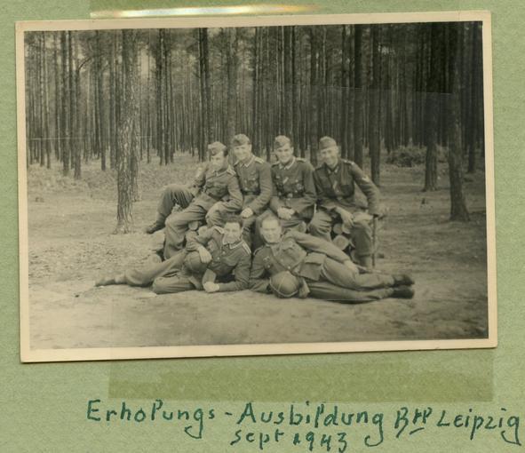 Temps de repos pendant l'apprentissage à Leipzig.